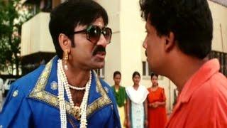 Khadgam Movie || Ravi Teja Back To Back Comedy Scenes || Ravi Teja, Srikanth, Sonali Bendre,