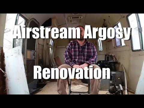 1977 Airstream Argosy Renovation