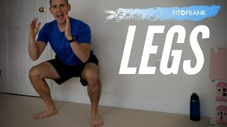 30 minute Leg Workout No Equipment Required