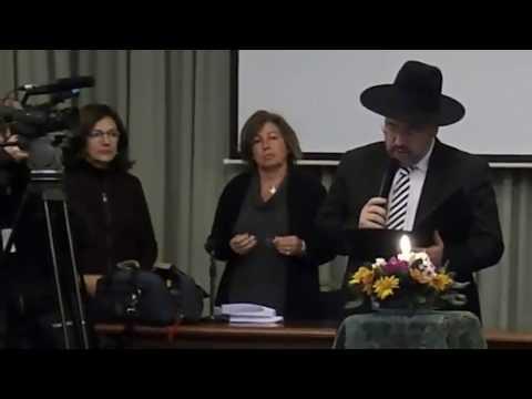 """El Rabino Szlajen en Conferencia Episcopal Argentina """"Rezo por Las Dos Vidas"""" (VIDEO)"""