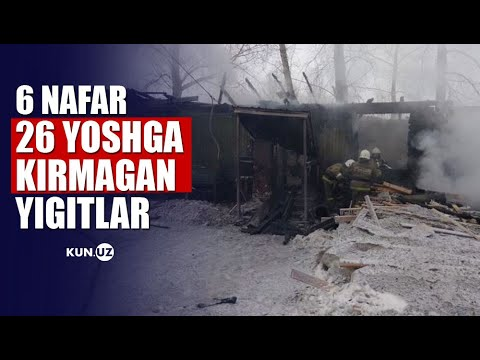 O'zbekistonlik 10 Nafar Migrant Tomsk Oblastida Yong'in Qurboni Bo'ldi