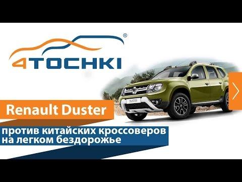 Renault Duster против китайских кроссоверов на легком бездорожье