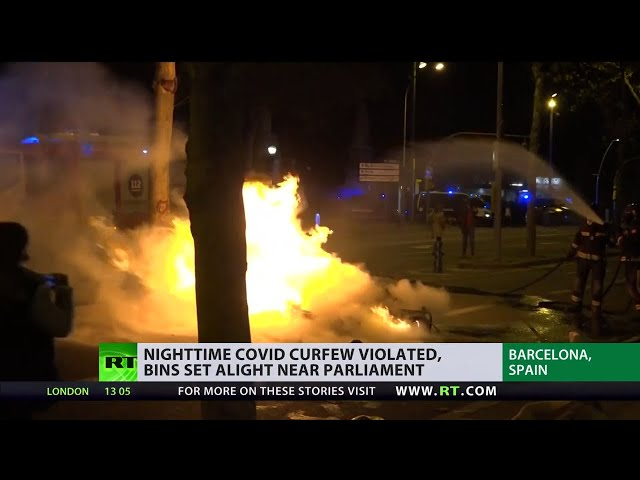 Sick of restrictions | New COVID measures in Europe prompt massive riots