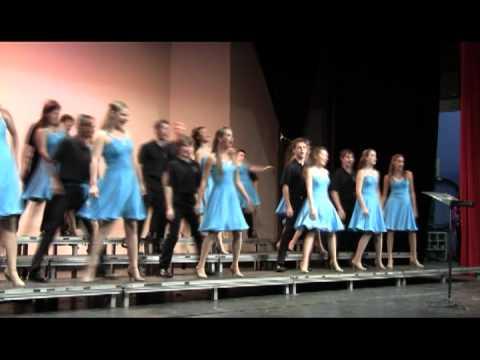 Captivating 2011 La Cueva High School Main Street Show Choir Performing Stuck Like Glue