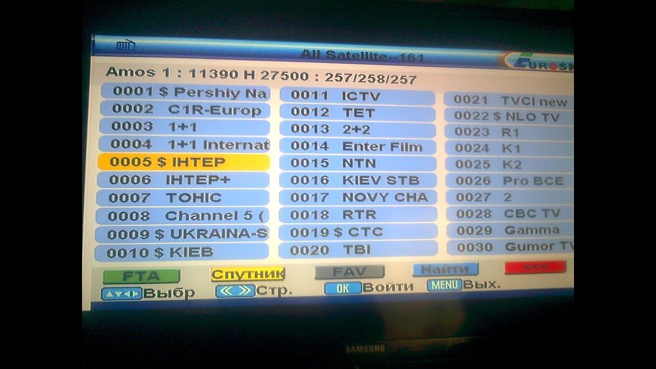 Eurosky dvb 8004 скачать прошивку
