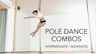 Pole Dance Combos for Intermediate / Advanced on Static & Spinning Pole