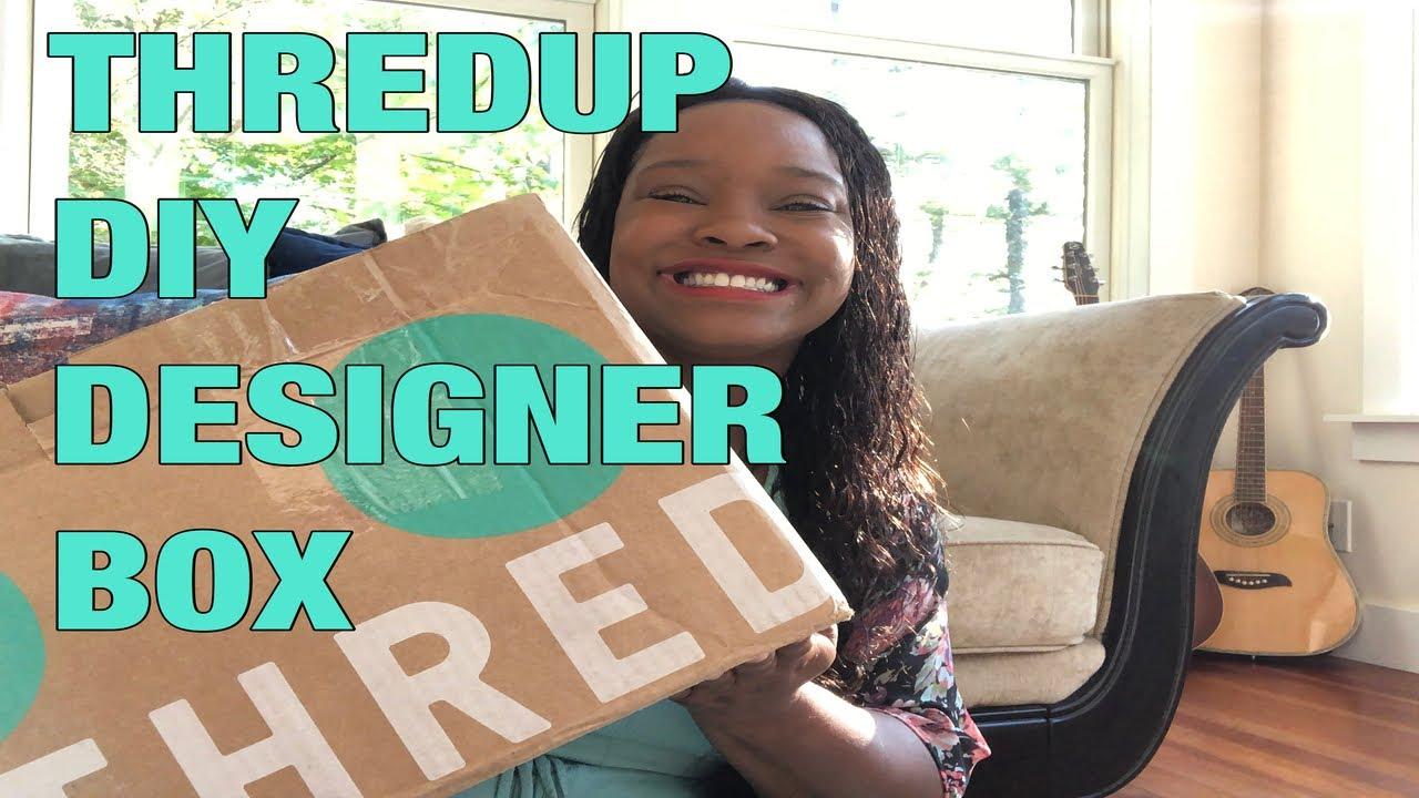 Thredup Diy Designer Box 7 Designer Items For 60 Wow Collab W Elduchothrift Youtube