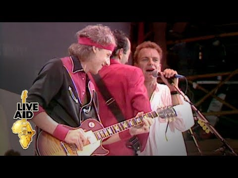 Dire Straits / Sting – Money For Nothing (Live Aid 1985)