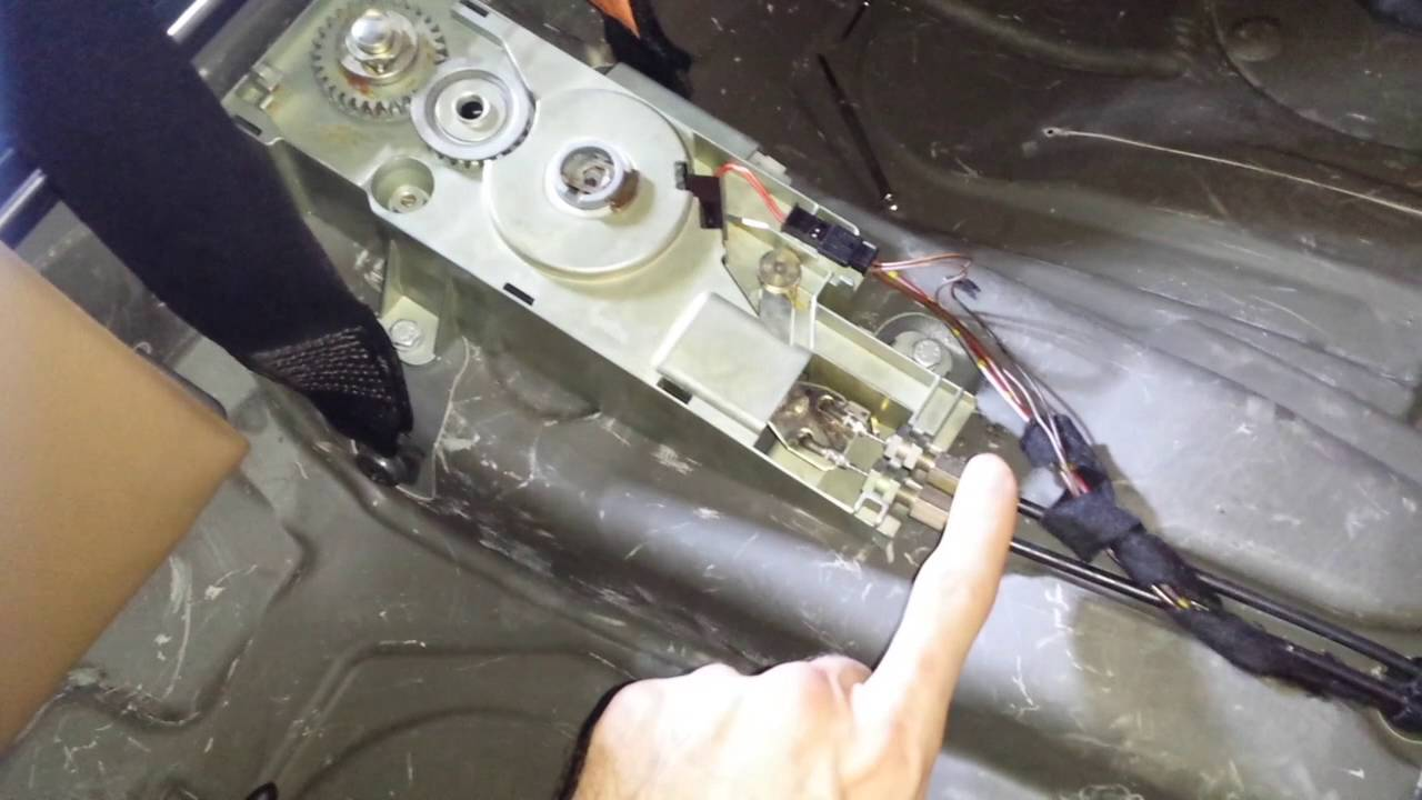 E46 Bmw Convertible Top Repair Flap Motor Replacement