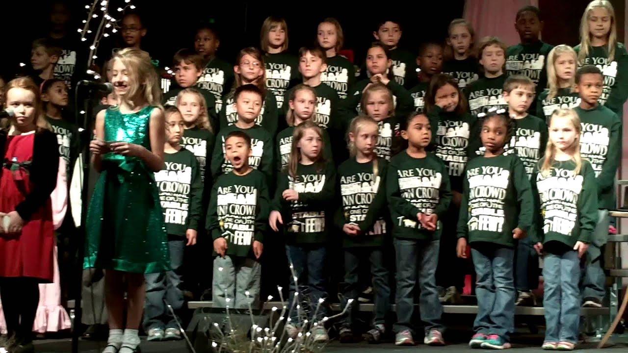 2012- NWA 2nd 3rd Grade Christmas - YouTube