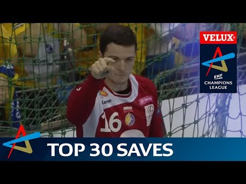 Top 30 handball saves of the 2016/17 VELUX EHF Champions League