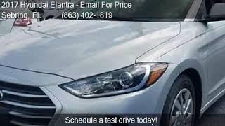 2017 Hyundai Elantra SE 2.0L AUTO (ALABAMA) *LTD AVAIL* for