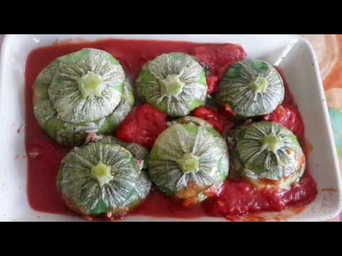recette-courgettes-rrondes-farcies-/-stuffed-zucchini-recipe