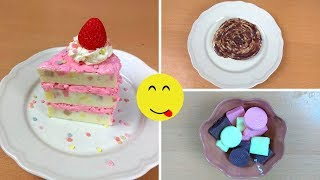 SOAP DESSERTS! CAKE, CINNAMON ROLL, PRALINE