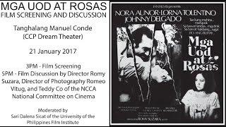 Video Mga Uod at Rosas Film Discussion download MP3, 3GP, MP4, WEBM, AVI, FLV November 2017