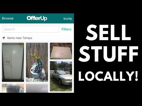 SELL STUFF LOCALLY! - Letgo, offerup, craigslist, facebook marketplace | RALLI ROOTS