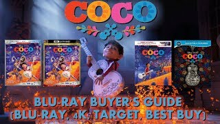 COCO - BLURAY UNBOXING (BLURAY, 4K, TARGET, BEST BUY) - BLURAY BUYERS GUIDE!