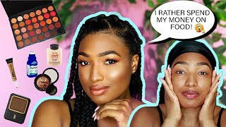 MY VERY AFFORDABLE GO TO MAKEUP ROUTINE! ALL DRUGSTORE & BEAUTY SUPPLY PRODUCTS