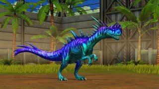 Jurassic World Game Mobile #78:Khủng long mới Monolophosaurus