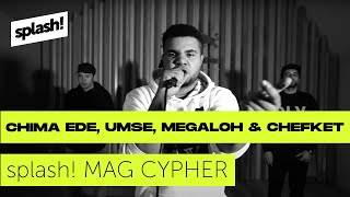 splash! Mag Cypher #20: Chima Ede, Umse, Megaloh & Chefket @ Red Bull Studios Berlin