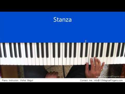 Chahun Main Ya Na Piano Tutorial  by Vishal Bagul | Melody | Chords | Arpeggios