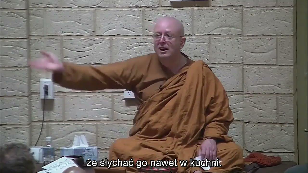 Jak radzić sobie z bólem podczas medytacji - Ajahn Brahm [NAPISY PL]