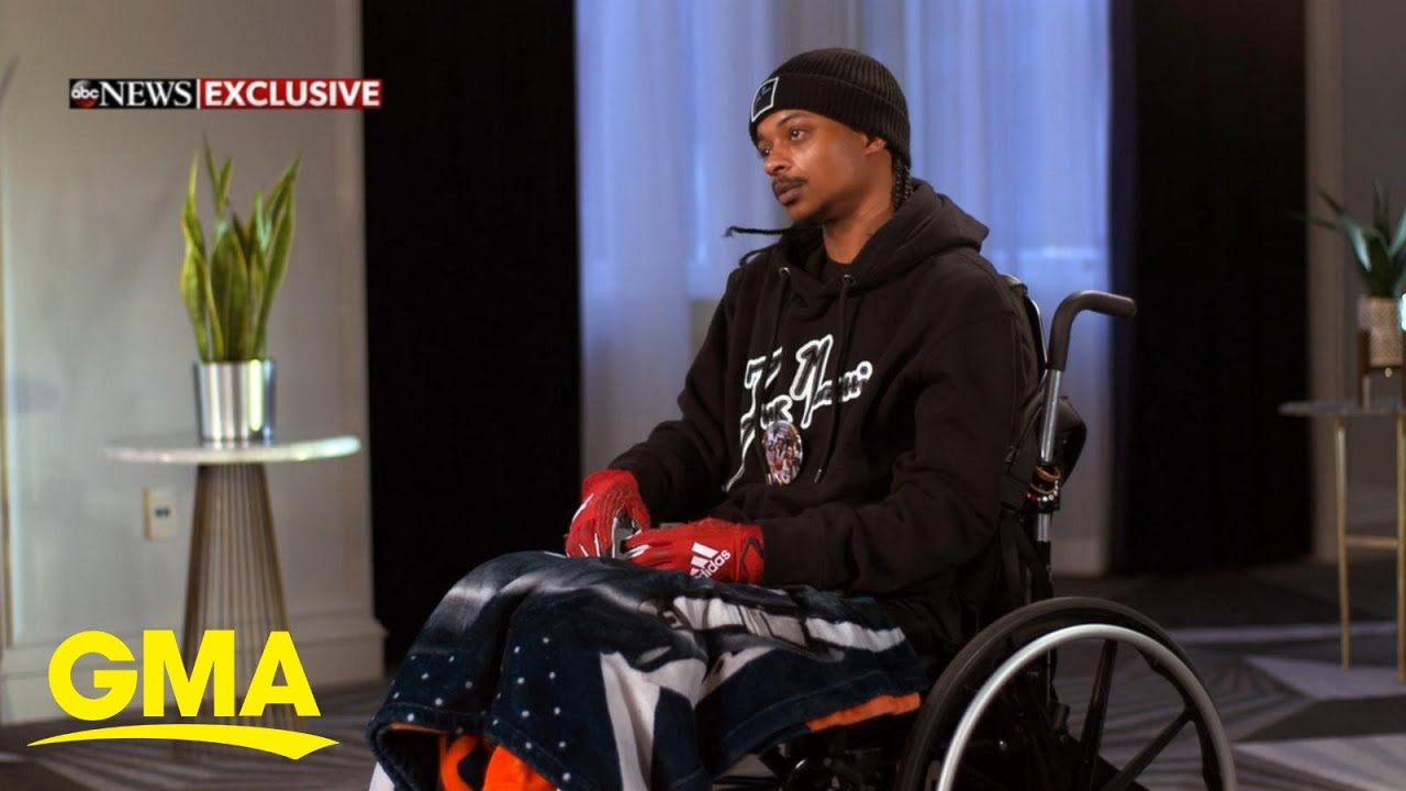 Jacob Blake speaks on police shooting that left him paralyzed: 'I didn't want to be the next George Floyd'