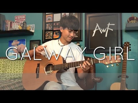 Ed Sheeran - Galway Girl - Cover  (Fingerstyle Guitar)