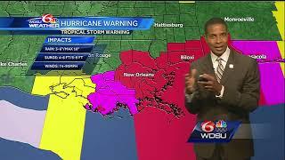 Saturday AM: Latest information on Hurricane Nate