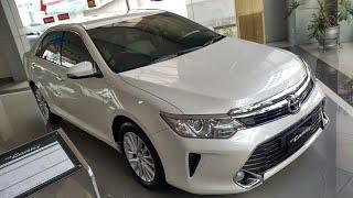 In Depth Tour Toyota Camry 2.5V XV50 Facelift 2016 Improvement - Indonesia