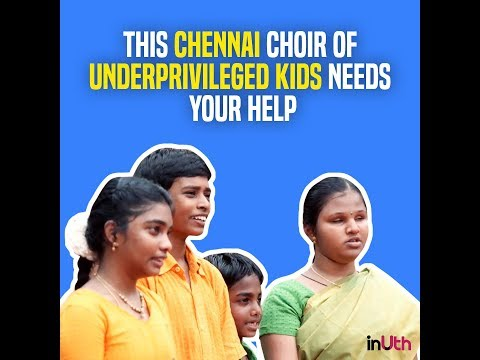 A Chennai Choir Of Underprivileged Kids Is Set To Perform In The US