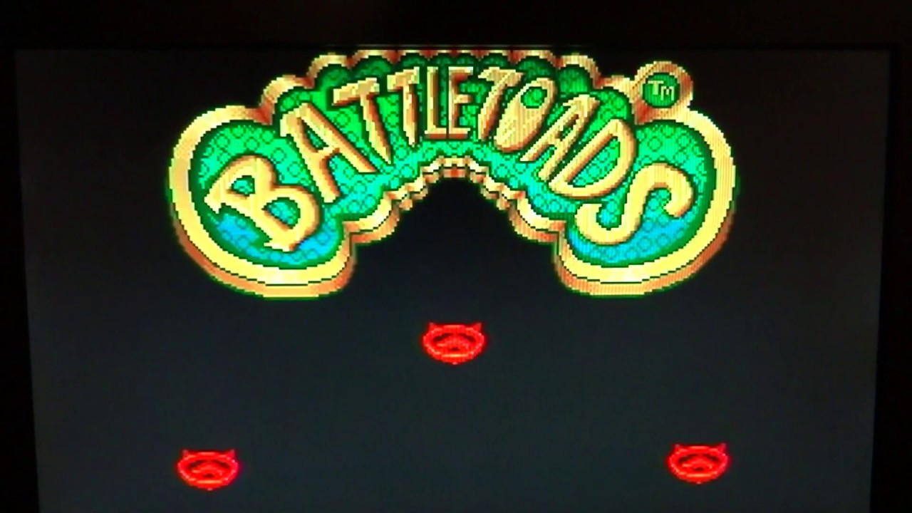 Battletoads: Sega Mega Drive Game Play (Actual Hardware)