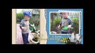 Детская фотокнига До и После(Детская фотокнига о маленьком мальчике. До (только фотографии) и После (оформленный разворот книги)., 2016-01-04T14:32:51.000Z)