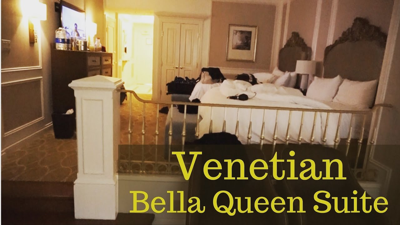 Signature At Mgm Grand One Bedroom Balcony Suite Venetian Bella 2 Queen Suite Youtube