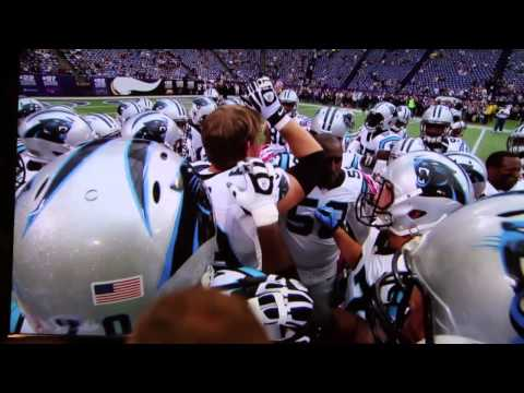 Carolina Panthers Jordan Gross Retirement Tribute