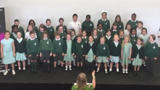 St Saviour's Choir sing 'Naughty' at the Tri-Borough Hub Vocal Showcase
