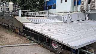 샌드위치지붕판넬로교체및연장작업(010  9469 141…