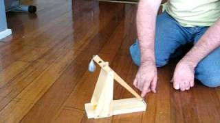 How To Make A Trebuchet Catapult Science Kit