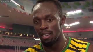 Usain Bolt Marathi Interview after winning 4x100 relay FINALS RIO 2016 HD