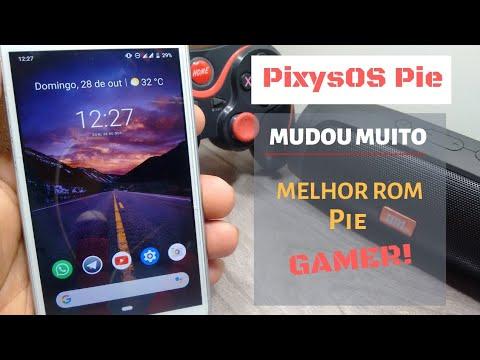 #MelhorRom1 #MelhorRomPieGamer REVIEW DA ROM PixysOS (ANDROID 9 0) NO MOTO  G³ e OUTROS