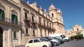 Noto, Sicily - walk through the Corradino