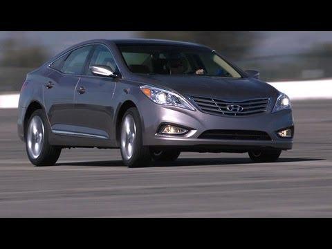 2012 Hyundai Azera Track Test Video - Inside Line - YouTube