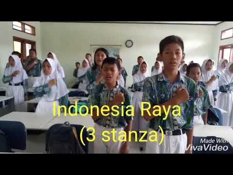 Lagu Indonesia Raya (3 stanza)