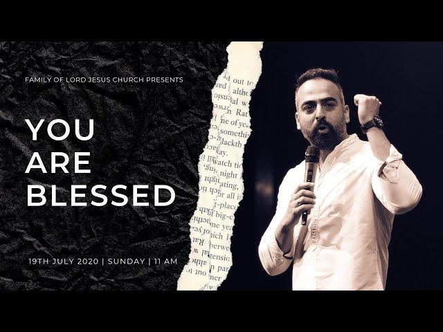 You are Blessed | Ps Ram Dhawan | Folj Church