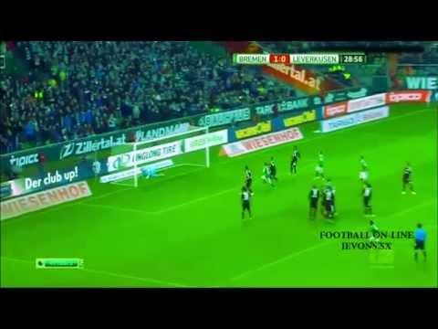 Zlatko Junuzovic goal vs Bayer Leverkusen