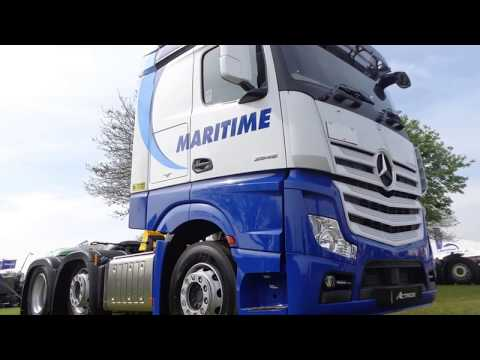 maritime transport trucks