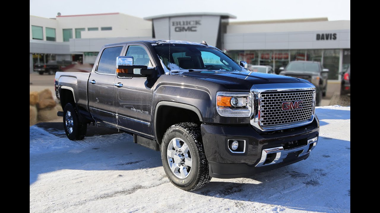 brand new 2016 gmc sierra 3500hd denali for sale in medicine hat ab youtube. Black Bedroom Furniture Sets. Home Design Ideas