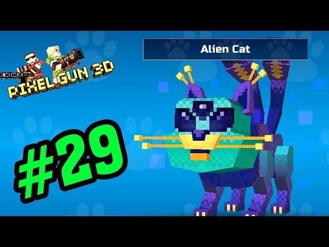 Pixel Gun Game Mobile #29 - ALien Cat Mèo Ngoài Hành Tinh - Xạ Thủ Minecraft PE Android, Ios