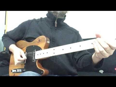 Fender LTD 2017 limited pine telecaster neck Ch Christian pickup Jovan Milosevski