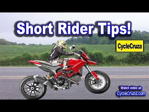 Don't Be Scared of Motorcycle Seat Height - Don't Be a PUSSY! | MotoVlog